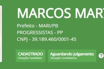 MARI: TSE indefere candidatura do PP à prefeitura
