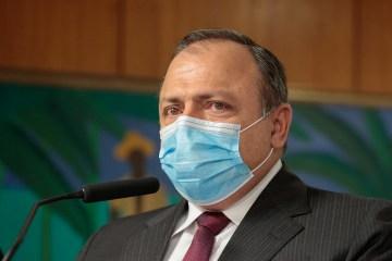 Ministro da Saude Eduardo Pazuello - Procuradoria-Geral da República pede ao STF abertura de inquérito contra o ministro Pazuello