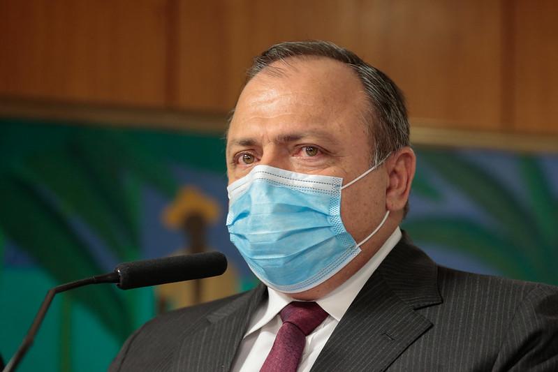Ministro da Saude Eduardo Pazuello - Em tratamento contra a Covid, Pazuello é internado em Brasília