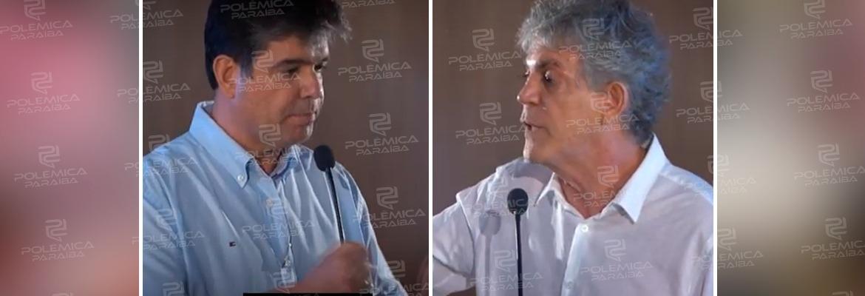"""RICARDO RUY - O TEMPO FECHOU: Ruy Carneiro e Ricardo Coutinho trocam agressões verbais após debate: """"vou lhe f..."""" – VEJA DIÁLOGO"""