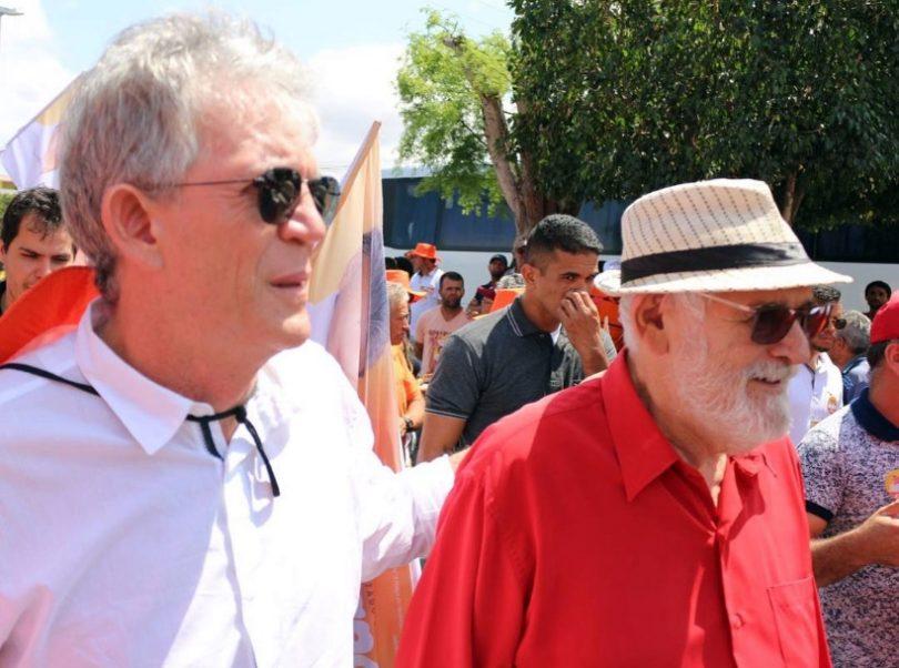 """Ricardo Coutinho e Luiz Couto e1603459697384 - EXCLUSIVO - João Azevedo demite o secretário de Agricultura: """"Couto foi desrespeitoso e debochado com o governador"""" - VEJA DOCUMENTO"""