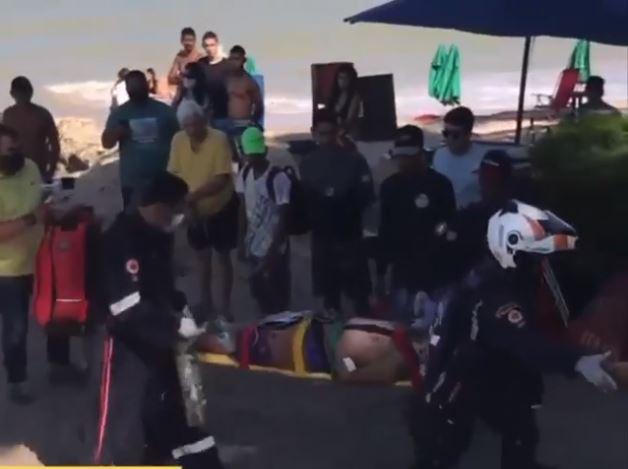 VITIMA - TROCA DE TIROS: um homem é morto e outro fica gravemente ferido na praia do Bessa, em João Pessoa - VEJA VÍDEO