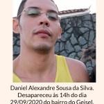 WhatsApp Image 2020 10 01 at 10.24.18 - Família busca por rapaz que desapareceu há dois dias do bairro do Geisel, em João Pessoa