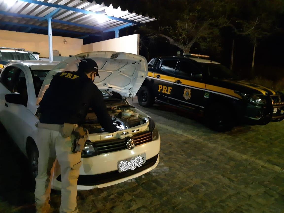 WhatsApp Image 2020 10 06 at 12.14.02 - Veículo roubado no Ceará há dois meses é recuperado pela PRF na Paraíba