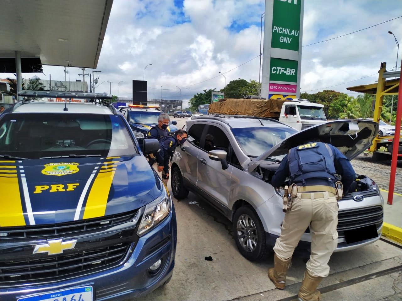 WhatsApp Image 2020 10 07 at 11.35.59 - PRF na Paraíba recupera veículo roubado em Pernambuco