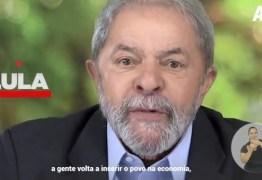 'Vídeo é antigo', diz direção nacional do PT sobre aparição de Lula no guia de Anísio