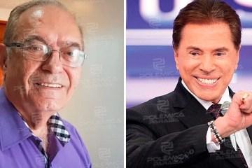 Paraibano lança livro com bastidores da candidatura de Silvio Santos à presidência da República em 1989