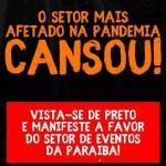 WhatsApp Image 2020 10 28 at 20.11.58 e1603927383605 - Associação de Profissionais de Eventos da Paraíba realiza novo protesto nesta quinta-feira
