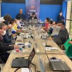 WhatsApp Image 2020 10 30 at 12.14.31 - DEBATE SANTA RITA: candidatos prometem criação de policlínicas, projetos para abrir mercados, concurso para guarda municipal, entre outras coisas; confira