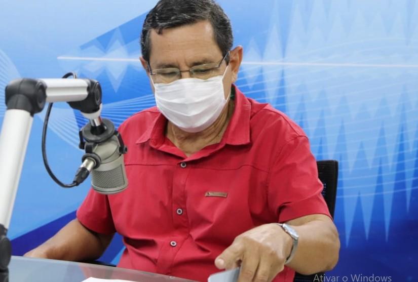 anisio maia - NA ARAPUAN FM: Anísio Maia promete quebrar o monopólio das empresas de ônibus em João Pessoa