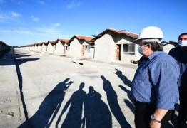 Novas moradias em Santa Rita: João Azevêdo realiza visitas em construção de 500 unidades habitacionais