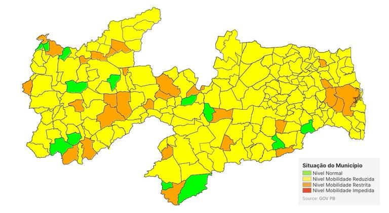 bdda35af 06b4 4708 933b 005174fc96b4 - Nova análise de bandeiras do Plano Novo Normal destaca risco sanitário no retorno das aulas presenciais, na Paraíba