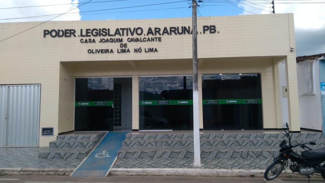 camara de araruna pb ordem do dia 02 101601575957 - Justiça nega pedido de afastamento do presidente da Câmara de Araruna