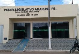 Justiça nega pedido de afastamento do presidente da Câmara de Araruna