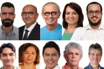 candidatos a prefeito de joao pessoa em 2020 1 e1603407536143 - PESQUISA IBOPE/TV CABO BRANCO: Cícero Lidera com 21%; Nilvan, Ricardo, Wallber, Ruy e Edilma empatam na margem de erro