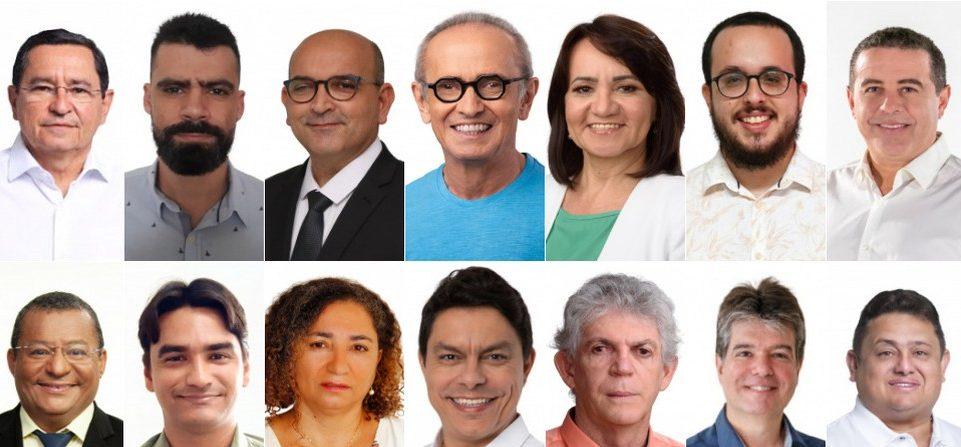candidatos a prefeito de joao pessoa em 2020 1 e1603407536143 - CAMPANHA ELEITORAL: confira quanto os candidatos à prefeitura de João Pessoa já receberam