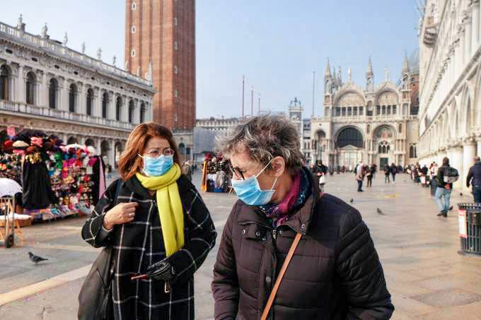 coronavirus italia 2 - OMS relata aumento recorde de casos de diários de Covid-19 no mundo