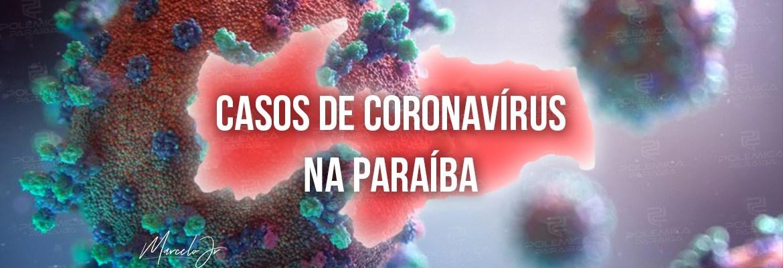 coronavirus - Paraíba registra 641 novos casos de covid-19 e 12 óbitos neste domingo; 7 mortes foram nas últimas 24 horas