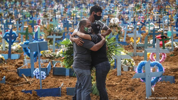 covidd - Brasil registra média móvel diária de 675 mortes por covid-19 nesta sexta-feira