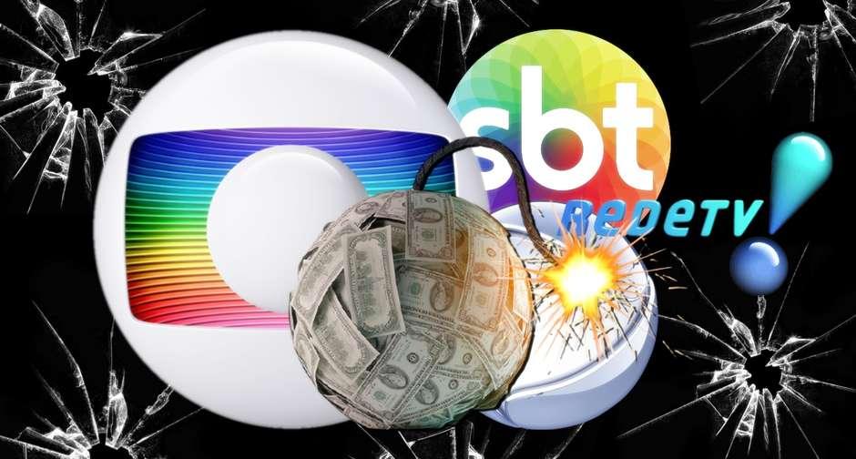 emissoras - A maioria das TVs está em grave crise; Globo não escapa - Por Jeff Benício