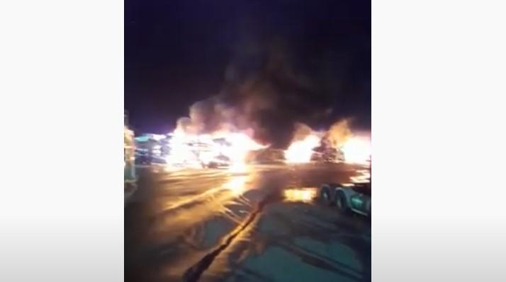 imagem 2020 10 18 175048 - Incêndio que atingiu carros da Jeep em Goiana pode ter sido criminoso - VEJA VÍDEO