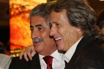 Amigo particular de Jorge Jesus é reeleito presidente do Benfica, em Portugal