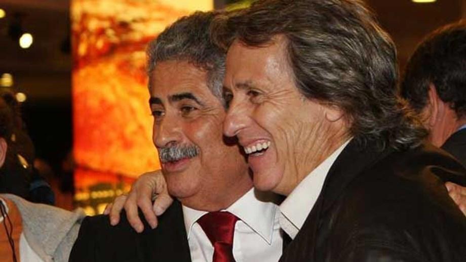 jj e lfv - Amigo particular de Jorge Jesus é reeleito presidente do Benfica, em Portugal
