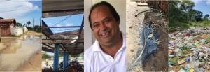 lucena descaso 300x103 - Apesar de já ter arrecadado quase R$ 300 milhões, Lucena continua abandonada pelo prefeito Marcelo Monteiro