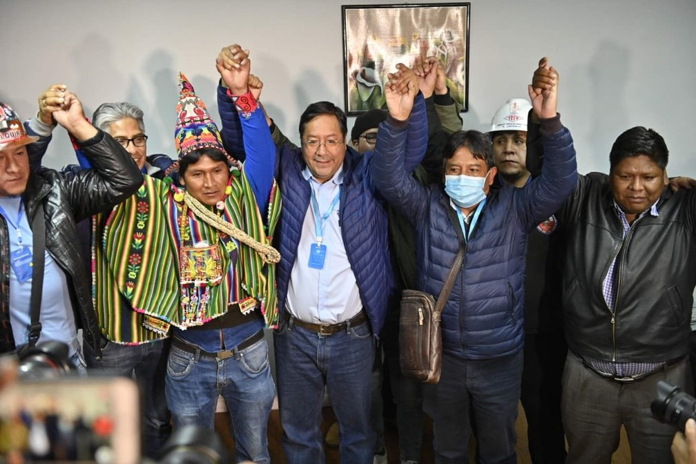 luis arce - Aliado de Evo comemora vitória na Bolívia; apuração está em 16%