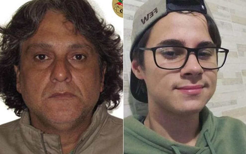 paulo cupertino rafael miguel montagem 2810 fixed large - PM do Paraná se confunde com o suspeito assassino do ator Rafael Miguel