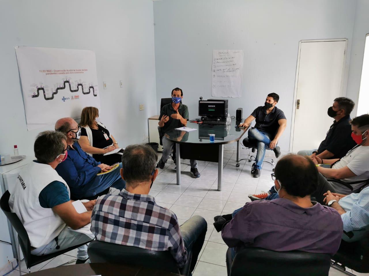 reuniao fulgencio - SETOR DE EVENTOS EM JP: após crescimento de covid-19 no estado, Prefeitura adia flexibilização