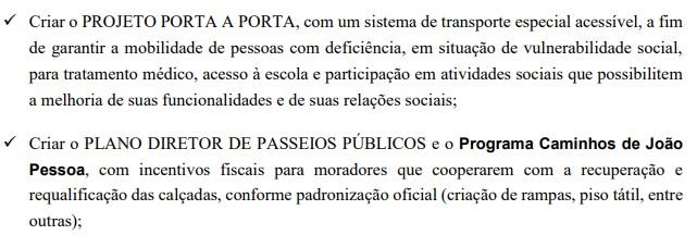 ricardo porta a porta - MOBILIDADE URBANA: Cícero Lucena e Ricardo Coutinho têm propostas de governo com o mesmo texto – CONFIRA