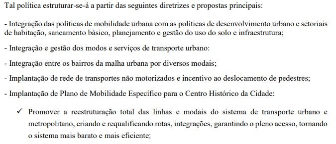 ricardo propostas principais  - MOBILIDADE URBANA: Cícero Lucena e Ricardo Coutinho têm propostas de governo com o mesmo texto – CONFIRA