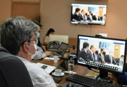 Em reunião com João, ministro diz que vacinação ocorrerá em janeiro: 'Isso tranquiliza'