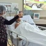videochamada hospital - João Azevêdo veta lei que obrigava visitas virtuais a pacientes internados com Covid-19 na Paraíba