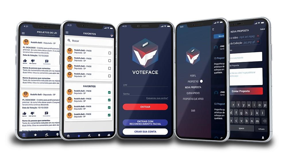 01copia - Gratuita e imparcial, rede social 'VoteFace' conecta eleitor e candidato - SAIBA COMO FUNCIONA