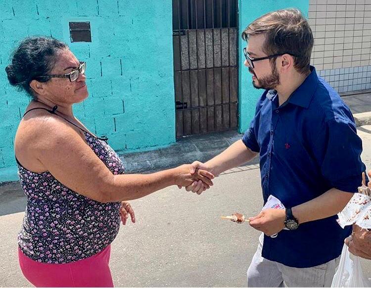 """5fd817d8 1c6e 49f0 aec7 00d979e4a0a1 - """"Na CMJP lutarei por melhorias para as pessoas com deficiência, jovens e todos pessoenses"""", garante o candidato Thiago Diniz"""