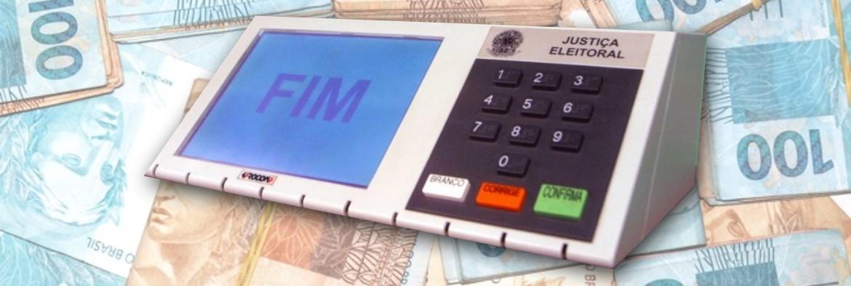 CUSTO POR VOTO ok - CUSTO POR VOTO: Candidatos a prefeito em João Pessoa gastaram em média R$ 31,62 e em Campina Grande R$ 32,32 - VEJA QUEM PAGOU MAIS CARO