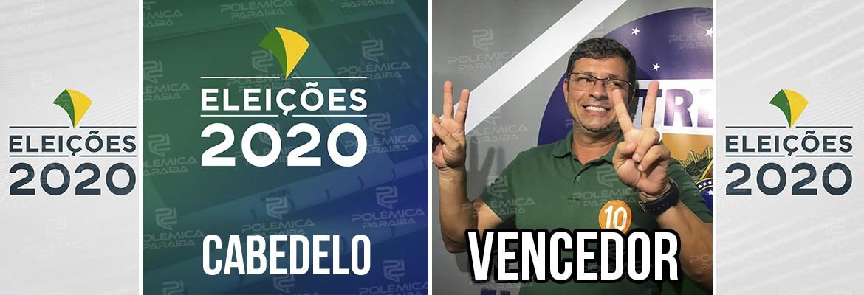 Cabedelo Victor Hugo - CABEDELO: Vitor Hugo é eleito prefeito com 57% das urnas apuradas