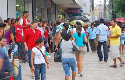 Comércio varejista de João Pessoa - Comércio e serviços devem funcionar normalmente em João Pessoa durante o carnaval, recomenda Fecomércio-PB