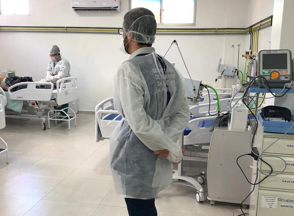 Coronavirus Foto Divulgacao Secom PB - RISCO DE SEGUNDA ONDA: CRM-PB constata que UTIs Covid de quatro hospitais da grande João Pessoa têm ocupação acima de 70%