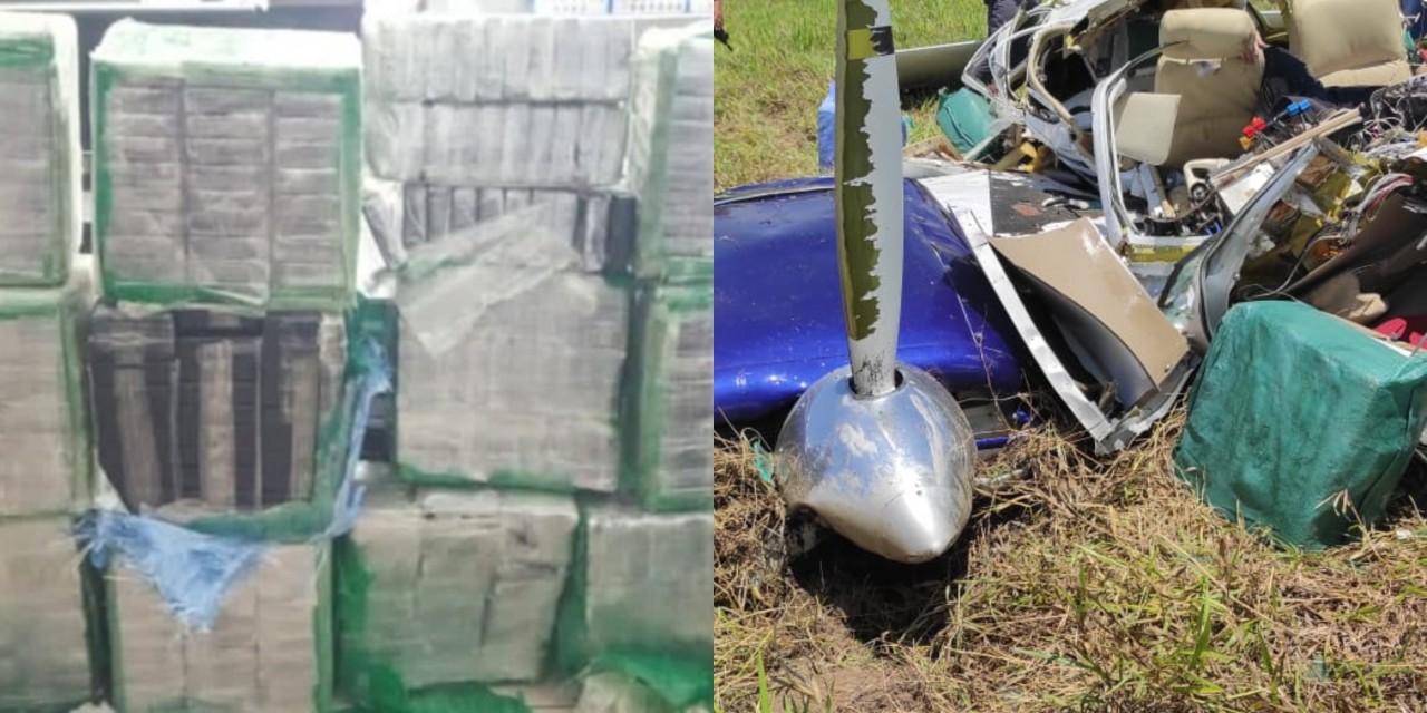 DECA 1 - CARGA AVALIADA EM 11 MILHÕES: Avião que matou o filho de Deca carregava 360 kg de cocaína pura