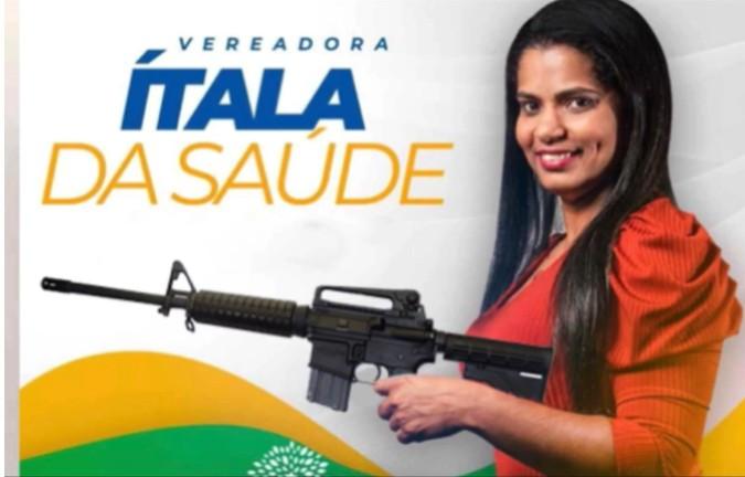 DETIDA - 'Agora vão me pegar com metralhadora': diz candidata a vereadora de Pedras de Fogo após ser detida com revólver calibre 38 - OUÇA