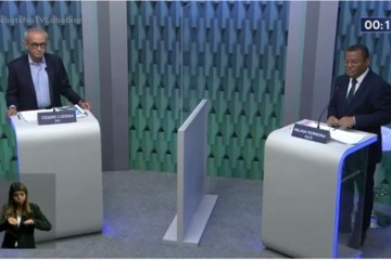 """Debate Nilvan e Cícero - No último debate, Nilvan e Cícero garantem que não farão """"lockdown"""""""