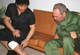 """Maradona tinha tatuagens de Che Guevara e Fidel e se disse """"soldado"""" de Lula e Dilma"""