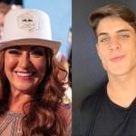 Nadine Gonçalves e Tiago Ramos - Ex-namorado da mãe de Neymar faz declaração nas redes sociais e explica relação entre eles - CONFIRA
