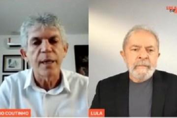 'JUNTAR OS CACOS': à Folha de SP, Ricardo Coutinho defende Lula e confirma candidatura em 2022