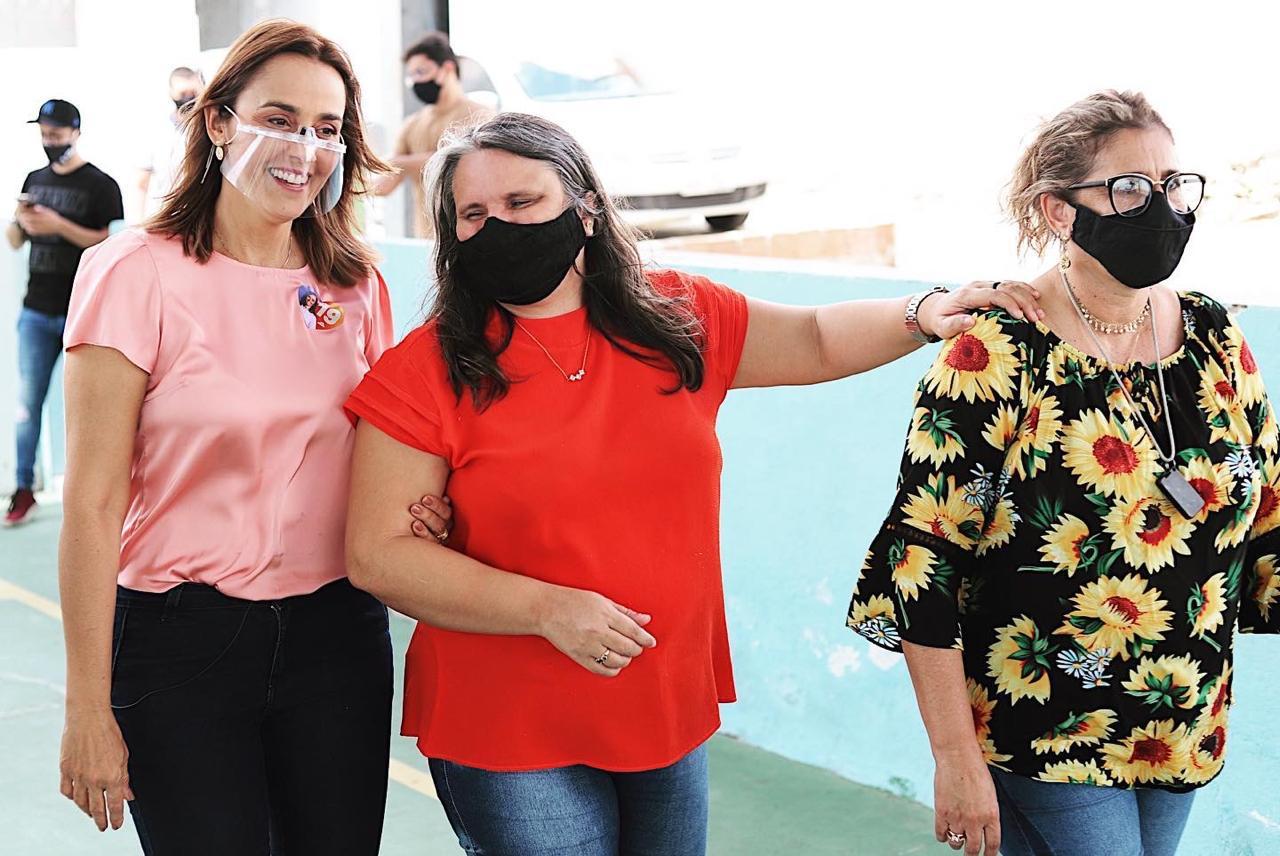 WhatsApp Image 2020 11 03 at 12.58.30 - Em visita ao 'Instituto dos Cegos', Ana Cláudia assegura repasses das subvenções sociais e políticas de inclusão social em Campina