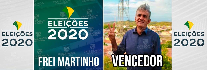 WhatsApp Image 2020 11 15 at 18.25.25 - ELEIÇÕES 2020: Tião Pinto é eleito prefeito de Frei Martinho