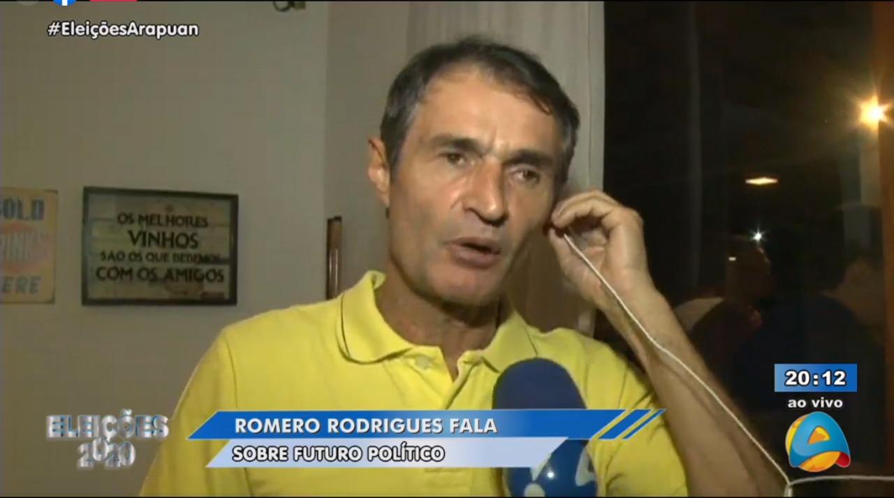 """WhatsApp Image 2020 11 15 at 20.13.07 - Após vitória de Bruno Cunha Lima no primeiro turno, Romero Rodrigues se lança para disputar o Governo da Paraíba: """"Estou com meu nome a disposição"""""""